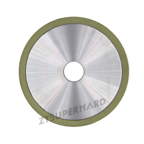 Vitrified bond diamond grinding wheel for PCD grooving tools