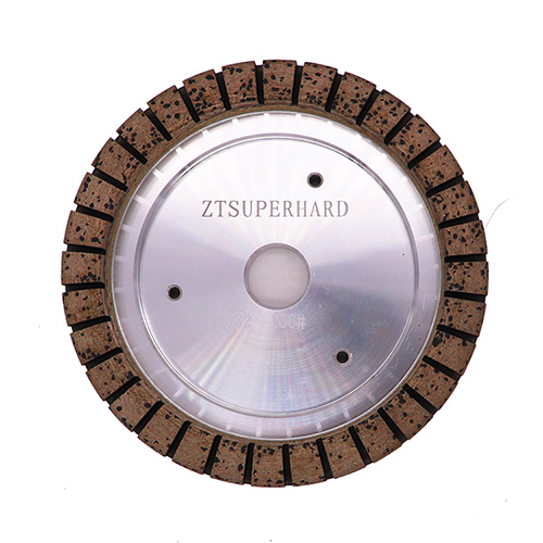 Metal bond glass diamond grinding cup wheel
