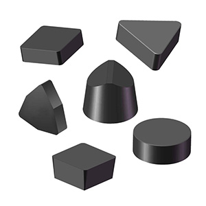 Solid cbn inserts