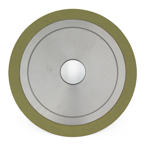 Vitrified bond diamond bruting wheel for CVD diamond