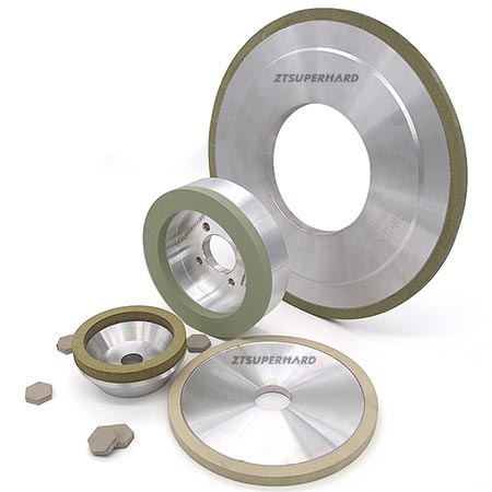 Vitrified bond diamond grinding wheels for PCD  tools